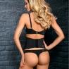 Salma - Black Lace Thongs