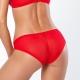 In Love - Red Sheer Bikini Panties