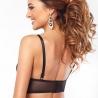 Glow - Black Sheer Lace Bralette