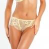 Joy - Yellow Lace Thongs