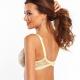 Joy - Yellow Lace Unlined Balconette Bra