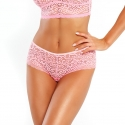 Kiss - Pink Lace Hipster Panties