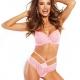 Kiss - Pink Lace Thongs