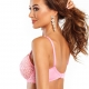 Kiss - Pink Lace Unlined Balconette