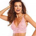 Kiss - Pink Lace Unlined Bralette