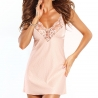 Smile - Peach Lace Babydoll