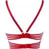 Summer Love 8 - Red Sheer Longline Bra
