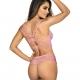 Summer Love 10 - Pink Lace Longline Bra