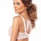 Miss - Powder Pink Sheer Bra Plus Sizes