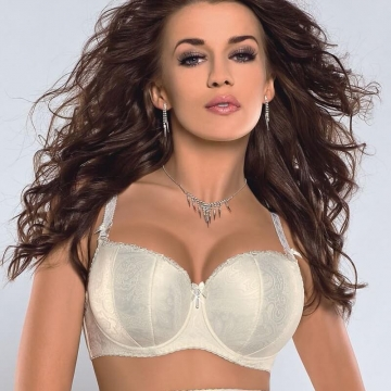 Ti Amo - Light Cream Balconette Bra