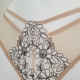 Tiffany - Light Beige Mesh Panties