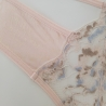 Smile - Peach Lace Thongs