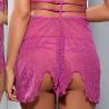 Colour Me - Pink Sheer Babydoll Set