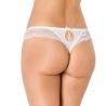 Dama de Honor -White Lace Thongs