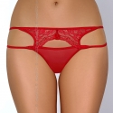 Intense - Red Lace Thongs