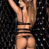 Poison - Black Lace Thongs