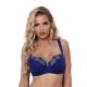 Miami Vibe Blue - Plus Size Bra