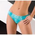 Celeste - Turquoise Lace Bikini Panties