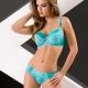 CELESTE Turquoise Lace Bikini Panties by Vena