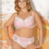 KATRIANE Pink Dotted Lace Bikini Panties by Ava