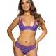 Golden Dream - Violet Lace Balconette Bra