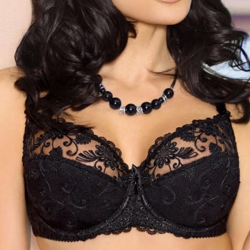 PAMELA Full Cup Sheer Bra