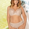 FANCHONE Beige Lace Bikini Panties