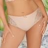 FANCHONE Smooth Beige Lace Bikini Panties