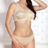 JARPOL Beige Wireless Full Coverage Bra