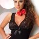 EMMA Lace Black Nightdress