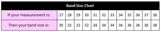 american bra band size chart