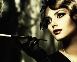 fashion smoking woman