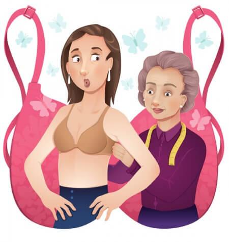bra fitting problems