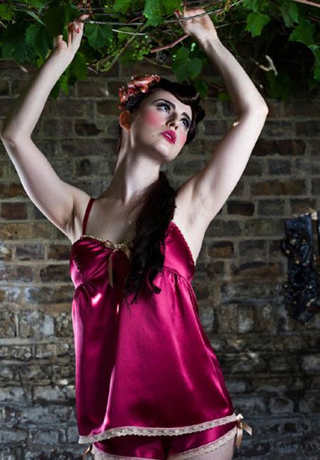 silk lingerie