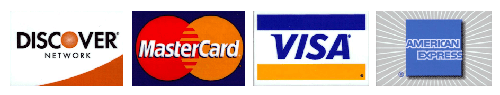 All Credit Cards Accepted